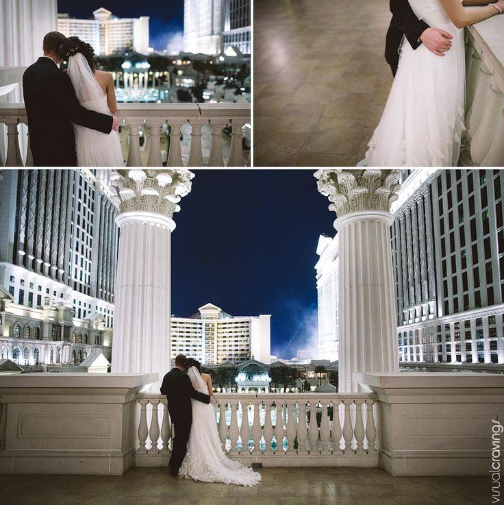 Caesars Palace Wedding Pictures   Las Vegas wedding photography Caesars Palace