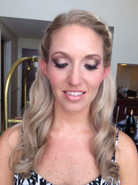 Wedding Makeup For Blonde Hair Green Eyes : Makeup for fair skin. Green eyes, blonde hair. Bridal ...