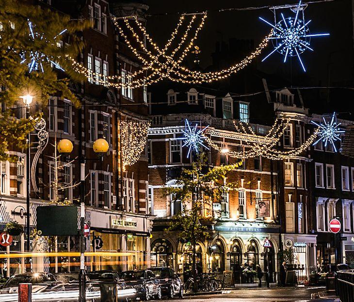 Marylebone Village Christmas Lights When Are London S 2018 Christmas Lights Switched On London Christmas London Christmas Lights Christmas Lights