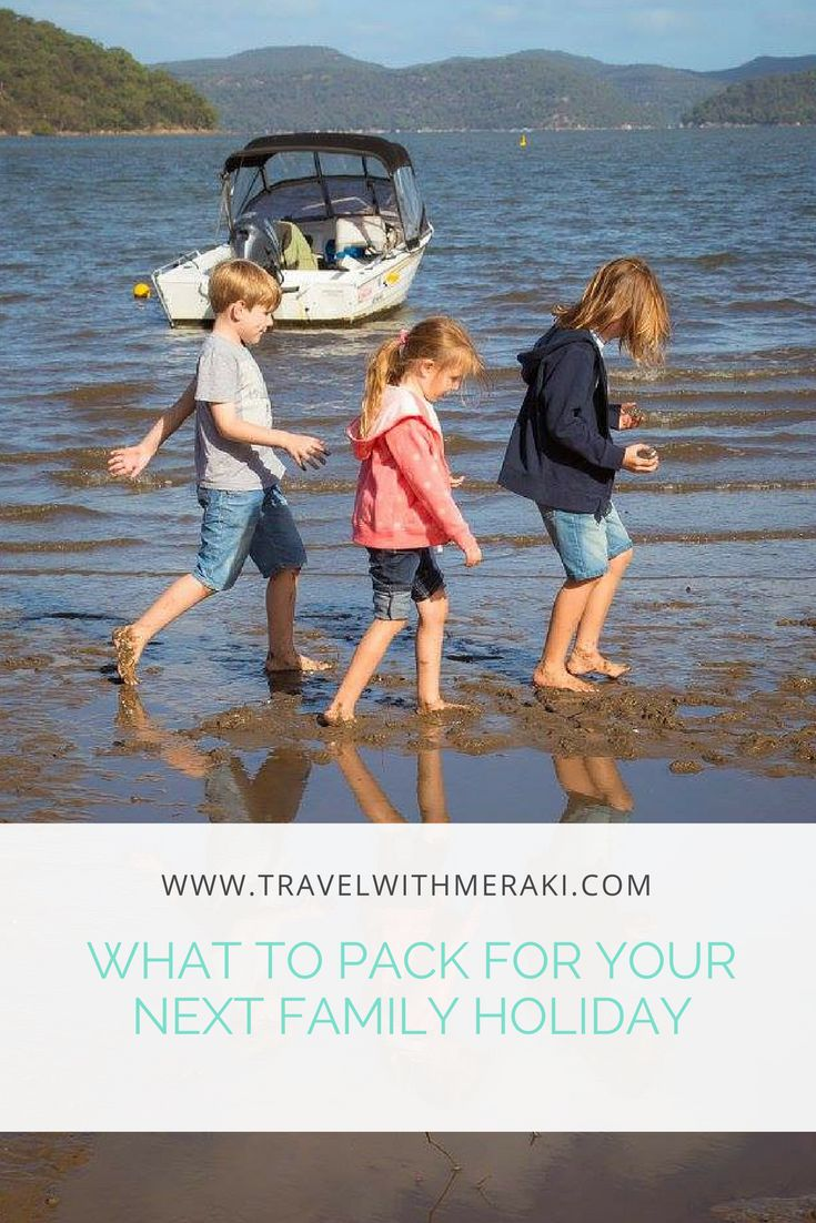 We asked over 20 Travel Families what their must have family travel item is. Come and take a look at what they pack for their family holidays.