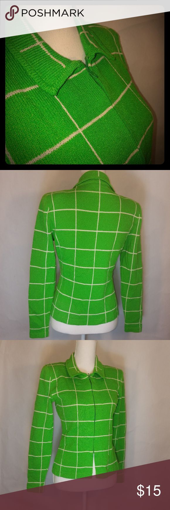 Vintage Corinne O'hare zip up sweater Vintage …