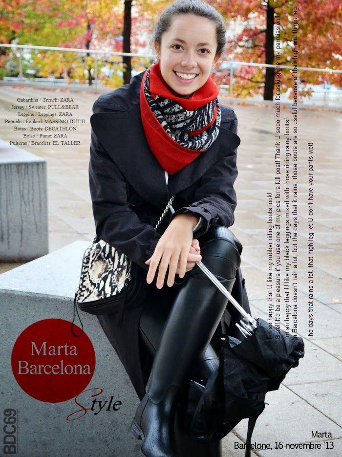 Bdc69 Blogs De Filles 104 Marta De Barcelone Rain