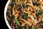 Pad Kee Mao (Spicy Ground Chicken and Rice Noodles)