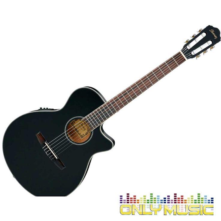 Guitarra Electroacústica Ibanez Color Negro Mate