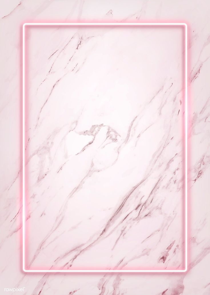 iPhone Wallpaper – Download premium illustration of Rectangle pink neon frame on a white