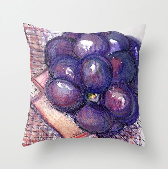 Blackberry cushion