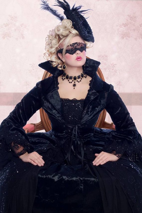 Fantasy Marie Antoinette Gown with Jacket by RomanticThreads, $1250.00 - Most badass costume for Halloween or a Masquerade EVER!