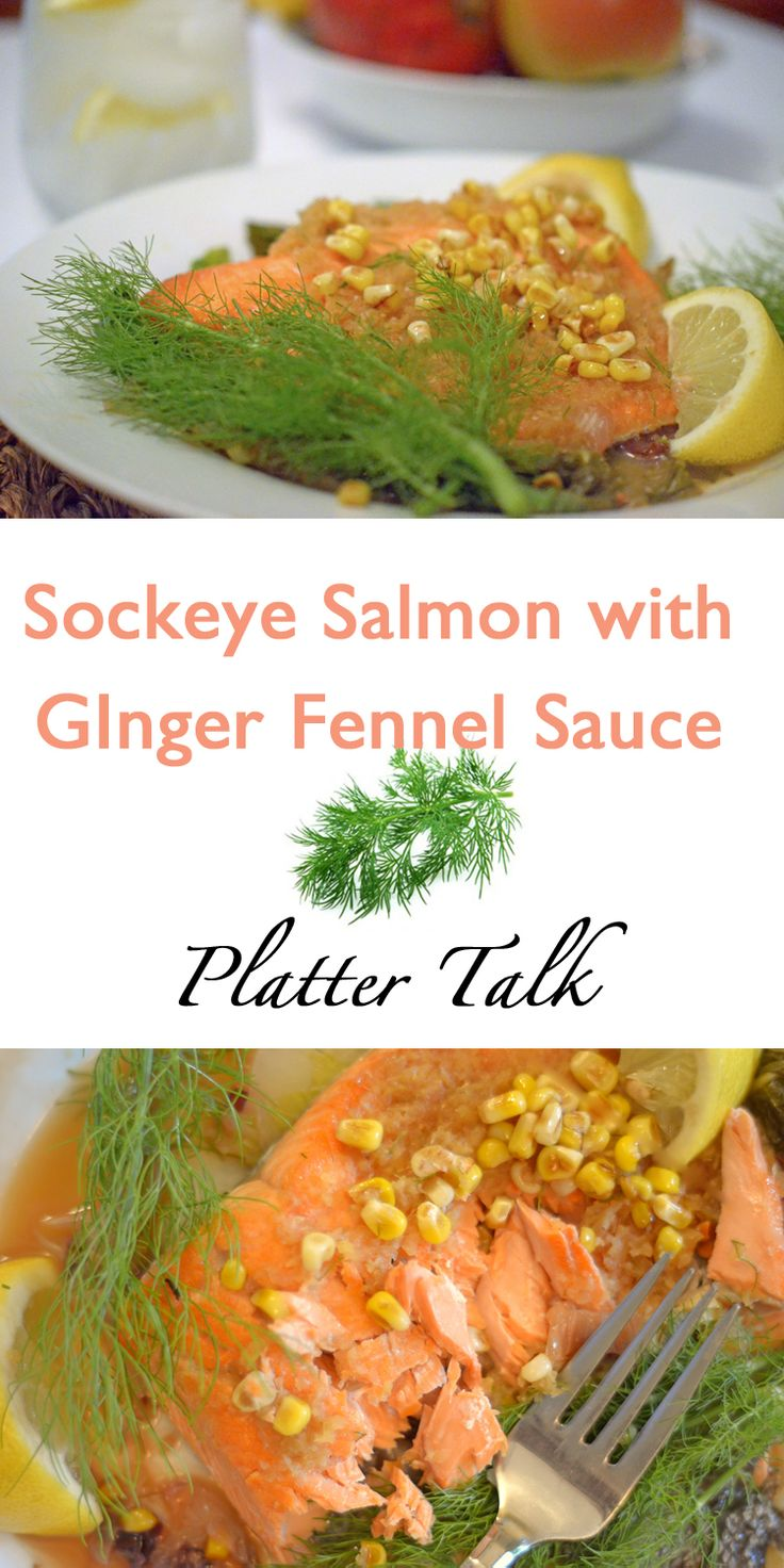 Grilled Sockeye Salmon With Fennel Two Ways Recipe — Dishmaps