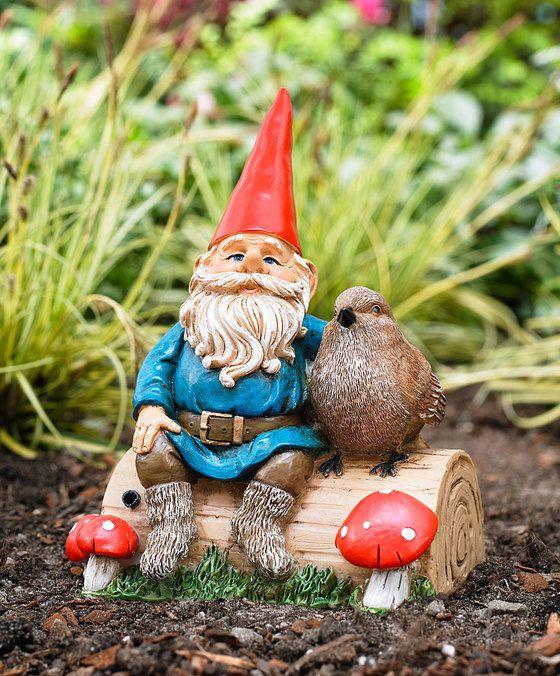 Les 25 meilleures id es de la cat gorie nains de jardin sur pinterest gnome de jardin poule d - Nain de jardin en terre cuite ...