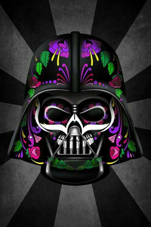 Dark Bader dia de los muertos.