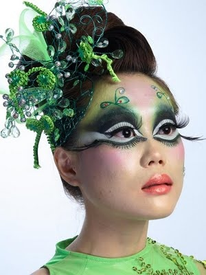 Me: Fantasy Makeup (in blue/purple)