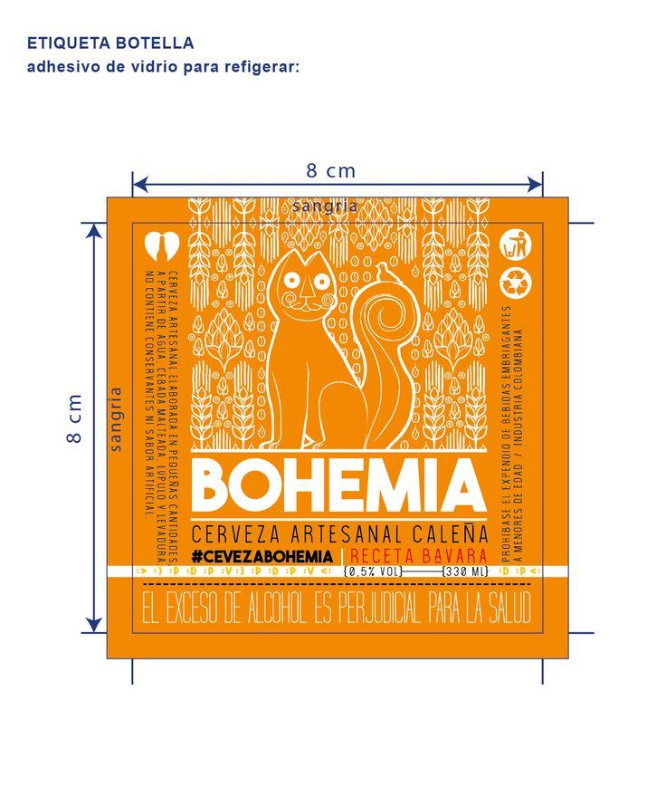 Diseño de etiqueta e ilustración para cerveza artesanal. #design #graphicdesign #brand #beer #birra #cerveza #logo #marca #empaques #etiqueta #diseñodeempaques #branding #packaging