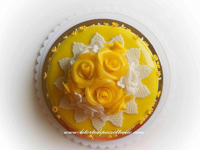 Le Torte di Pezzettiello e non solo...: (PDZ-SAP) Torta rose gialle