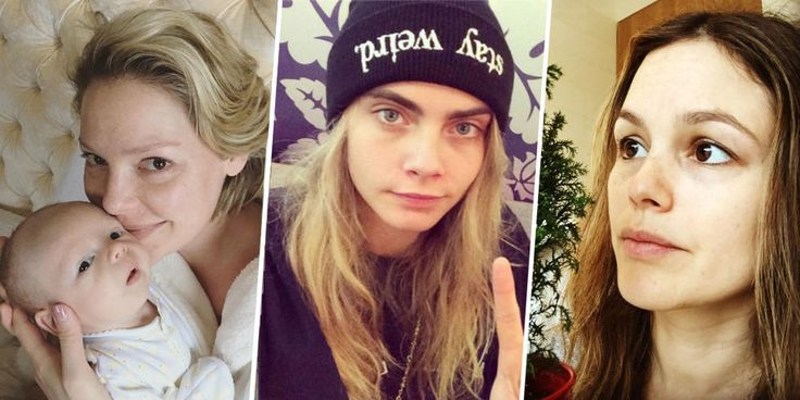 No-Makeup Celebrity Pictures - Celebrities Without Makeup