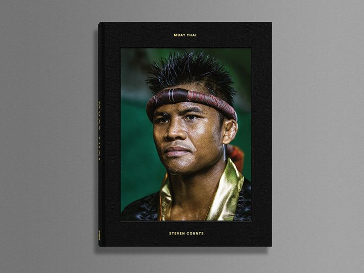 Hardcover photo book exploring Muay Thai lifestyle and culture throughout Thailand's countryside by sports photographer Steven Counts.