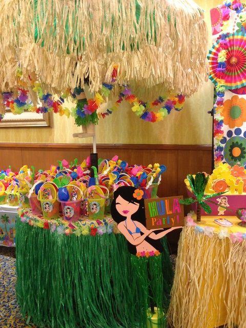 Hawaiian Luau Summer Quot Aloha Party Quot Kids Luau Parties