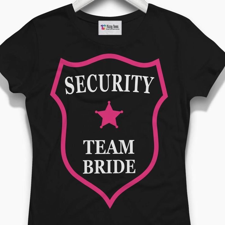 Bride Security Badge Hen Party T-Shirt