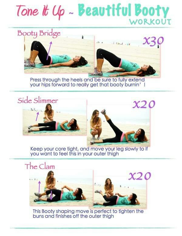 Butt workout - oh...my...gosh...i just did this....it burrrrrns baby! DYI
