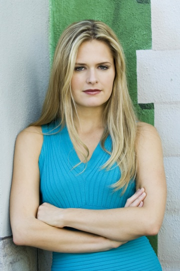 Maggie Lawson. Known for her role as Juliet O'Hara on the USA show, Psych. :)