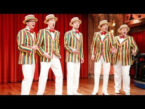 The Ragtime Gals: SexyBack (w/ Jimmy Fallon & Justin Timberlake)