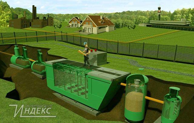 Сооружения очистки хозяйственно-бытового стока  http://www.indeks.ru/otvety-na-voprosy/sooruzheniya-ochistki-kho.php