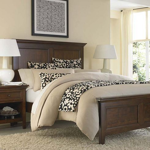 Best Brown Bedroom Furniture Ideas On Pinterest Blue - Bedroom color schemes with brown furniture