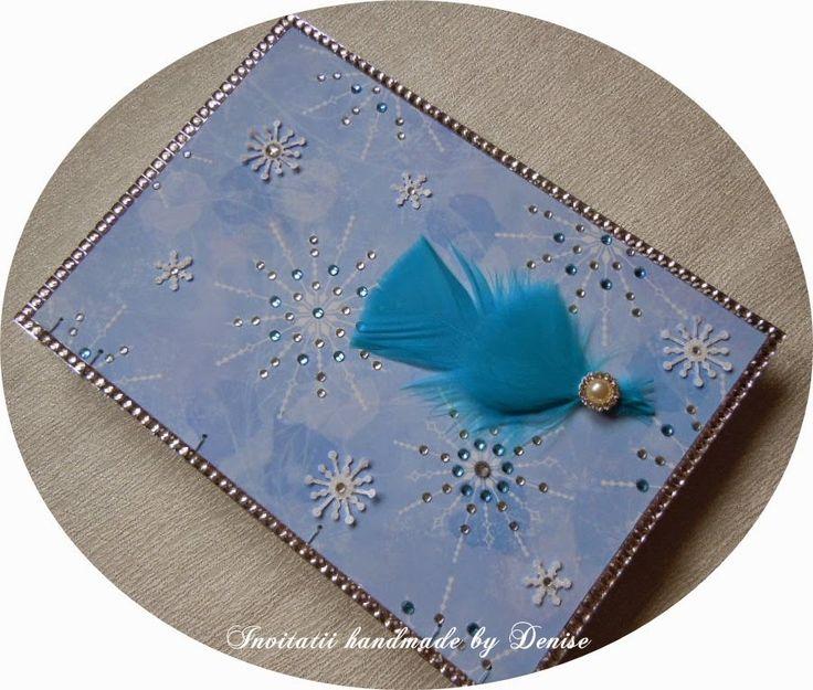 Handmade winter journal
