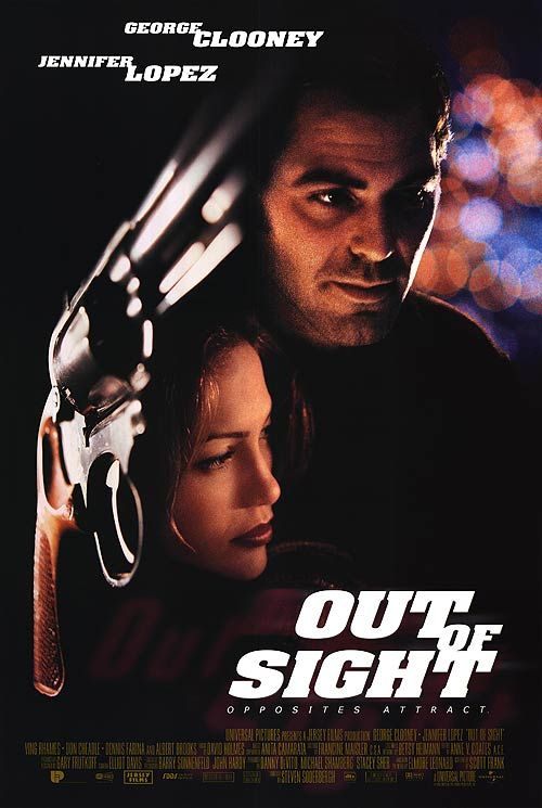 Out of Sight, Jennifer Lopez, George Clooney. Movie