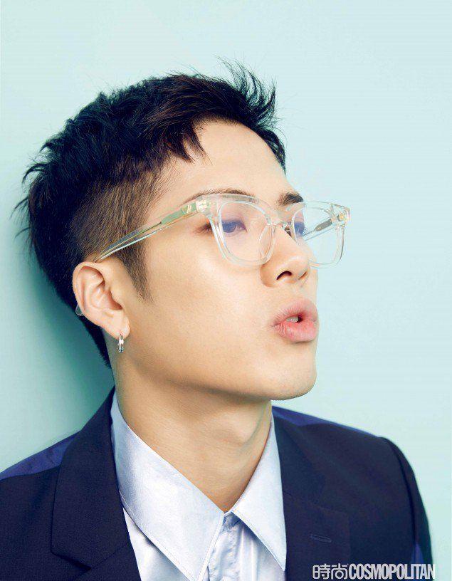 GOT7's Jackson goes colorful hipster for 'Cosmopolitan China' | allkpop.com