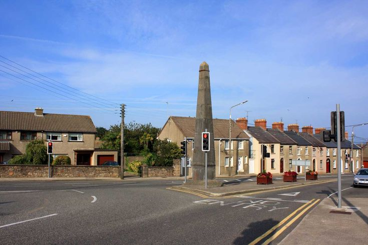 The Vallotton Monument is situated in Wygram in Wexford Town.