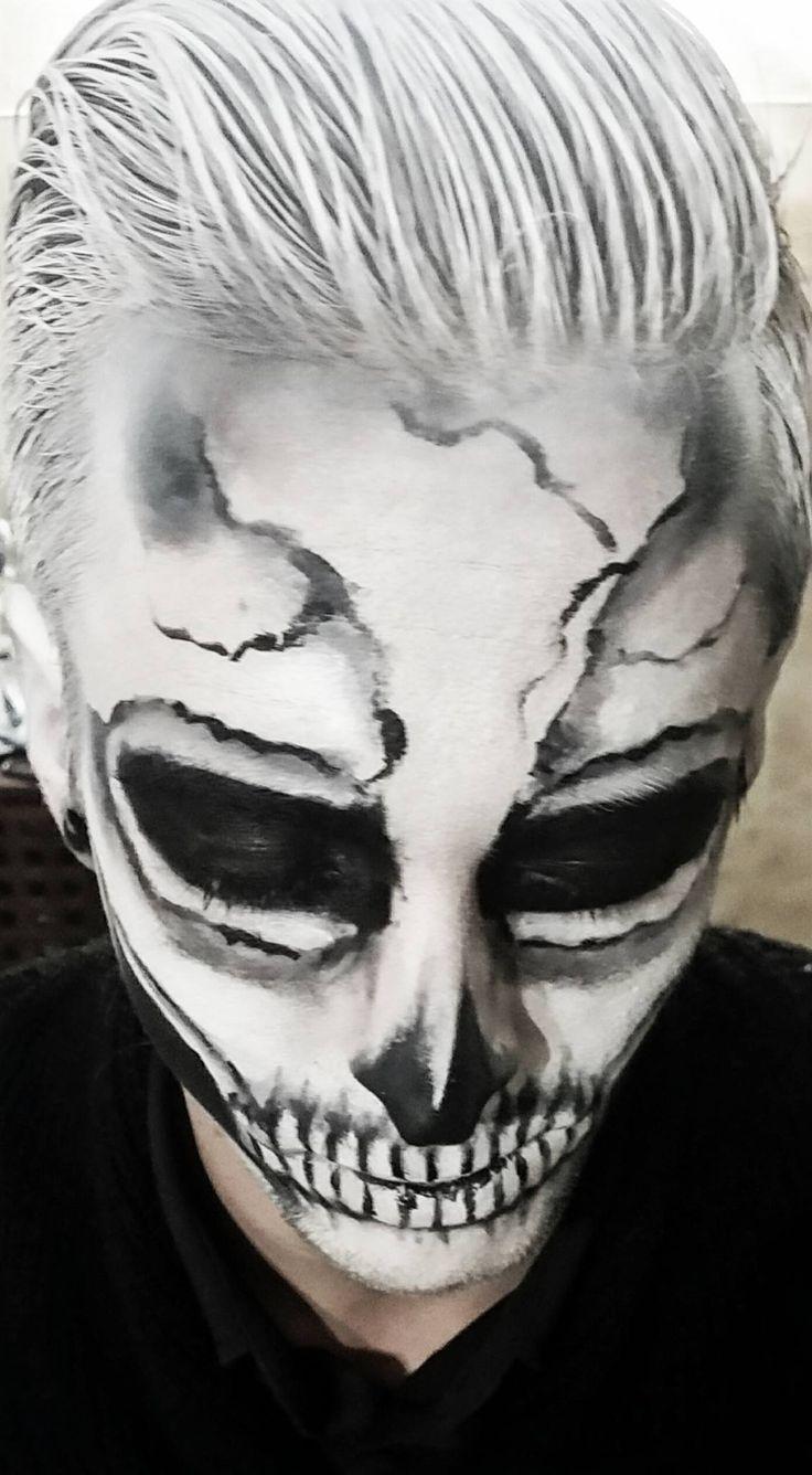Kreatív Sminkműhely Skull halloween MUA: Amin B.