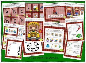 Les créations de Stéphanie: Ateliers pour le préscolaire et la première année en lien avec la rentrée scolaire