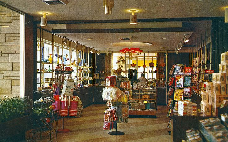 Pennsylvania Turnpike Giftshop 1965. Quick! The Way-Back Machine!