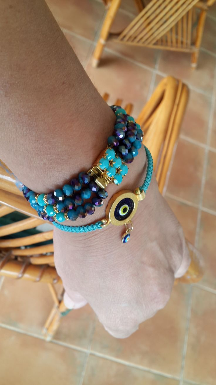 turquoise crystal bracelet combinations