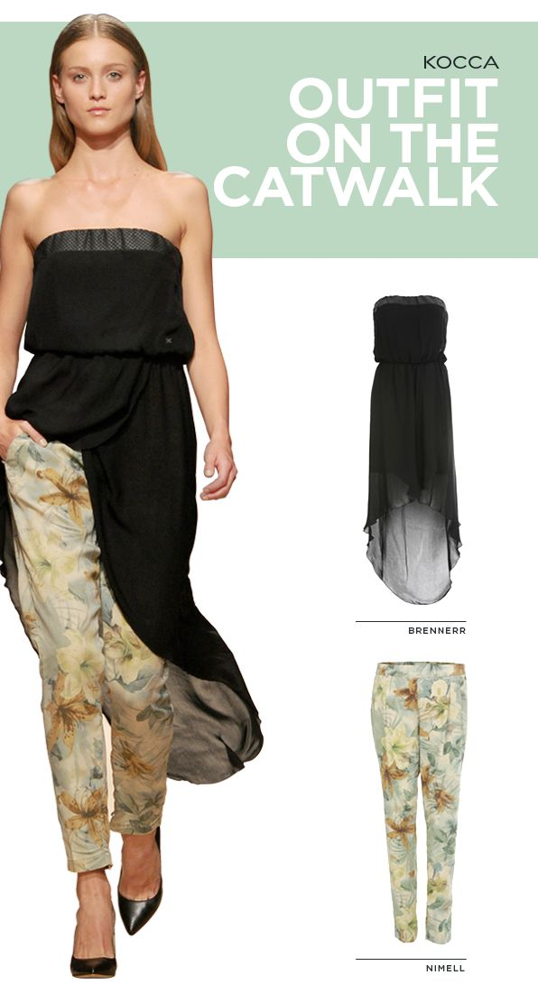 Exotic patterns and asymmetric lines: some suggestions from the 2014 Spring Summer fashionshow by #Kocca! #Kwoman #PE14 #SS14