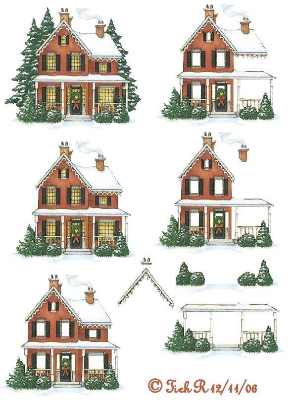 huisje kerst