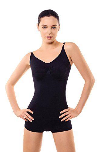 f6a7f97a6c4c6 MD Women s Shapewear Tank Top Cami Body Shaper Shirt For ... https