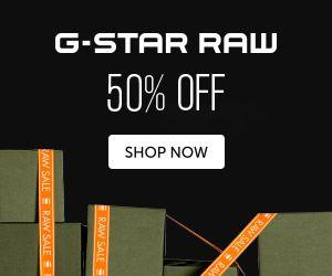 G-Star heeft de SALE met kortingen van 50% verlengd! De sale is geldig tot aankomende vrijdag 26 juli 2013.