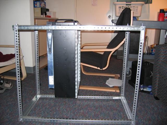 25 best diy server rack images on pinterest server rack for Homemade rack case