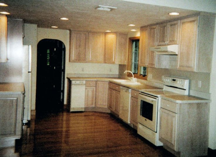 whitewashed kitchen cabinets cabinets combined with natural