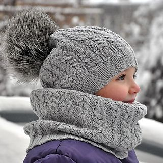 Stylish Fern Field Hat with unusual cable pattern will delight girls of all ages and will provide warmth and attention in any frost!
