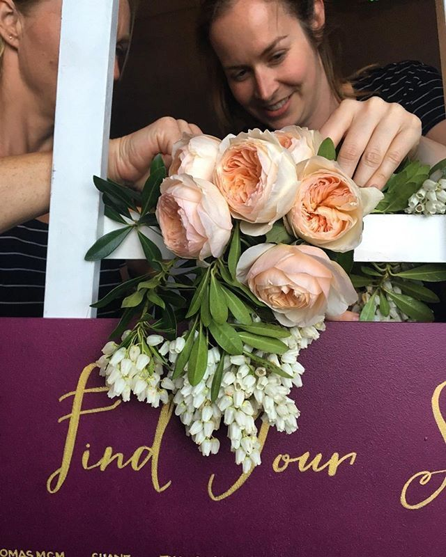 Seating chart florals - the perfect way to add a special touch!