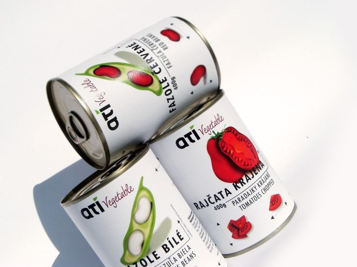 ATI Canned Vegetables on Packaging of the World - Creative Package Design Gallery