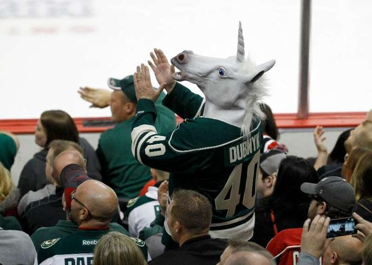 """The NHL's Best Fans:     No. 10 Minnesota Wild:   The Wild sold out every game last year and established a season‐ticket waiting list that helped justify a 4% ticket price increase for the 2016‐17 season. In August season ticket holders voted nearly 2‐1 to change their celebratory goal song to Prince's """"Let's Go Crazy"""" in honor of the late iconic hometown artist."""