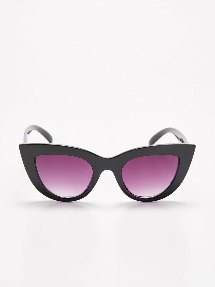Okulary kocie oczy