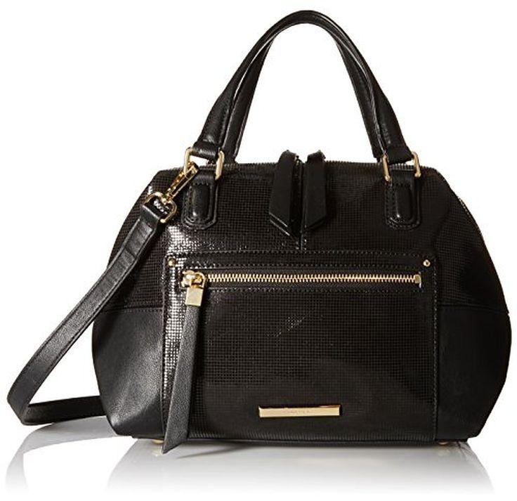 Nine West City Chic Leather Jaylin Satchel Shoulder Bag