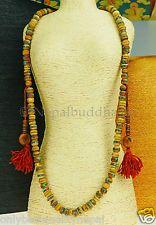 """Mala aus Bein """"antik Optik"""" Halskette Schmuck Gebetskette Rosenkranz Nepal 70"""