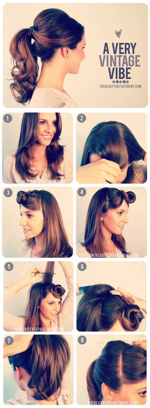 [ Sandra Dee's 1950s Ponytail | 27 Gorgeously Dreamy Vintage-Inspired Hair Tutorials ]