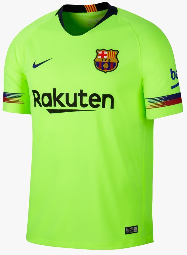 Camisetas 2018-19 FC BARCELONA STADIUM AWAY para Hombre  19841694883cd