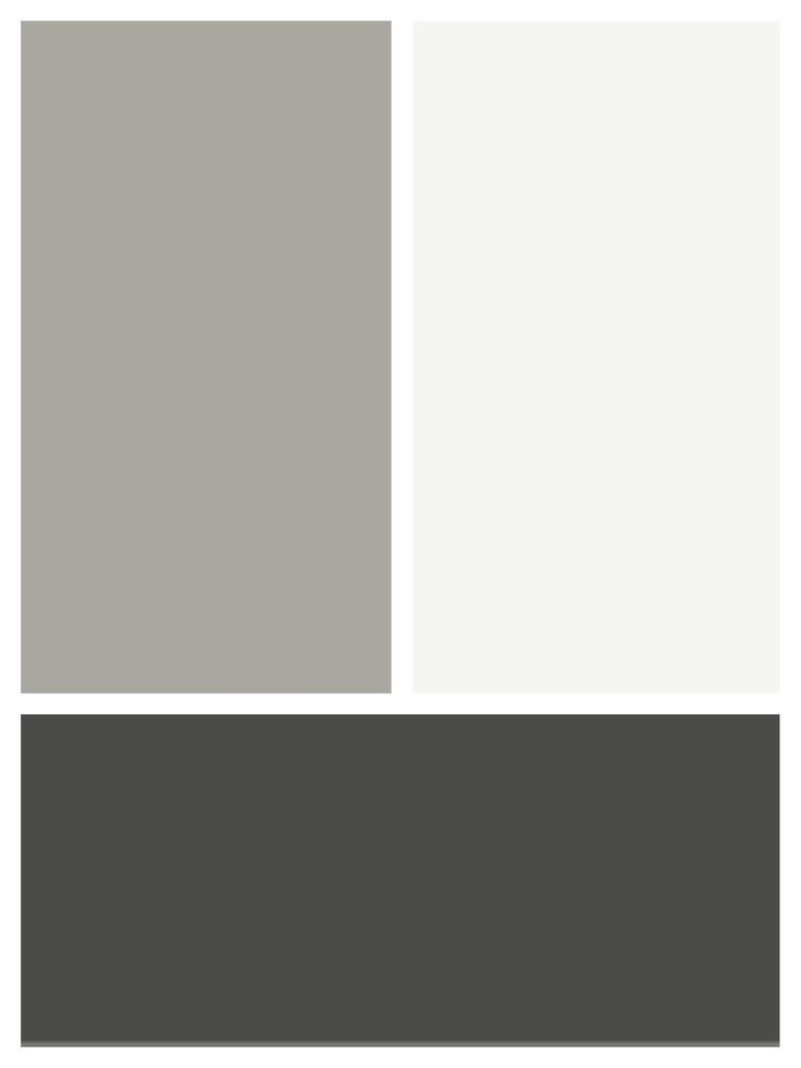 Resene Half Friar Grey weatherboard, Resene White trims, Resene gravel on brick base